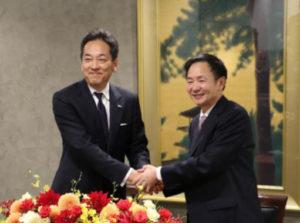 杉江俊彦社長と現地のキーマン