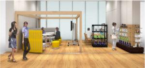 近畿大の産学連携拠点内に「マツモトキヨシACT」を開設した