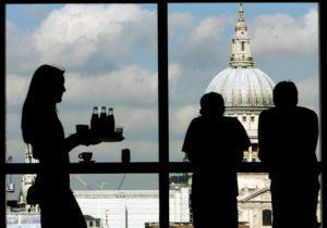ロンドンのオフィス