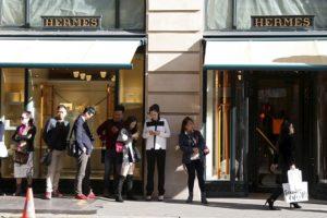 パリの小売店の様子