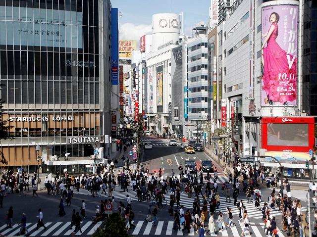 渋谷の様子
