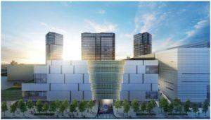 住友不動産、都内最大規模の複合施設を開発、200店舗の商業施設を核に