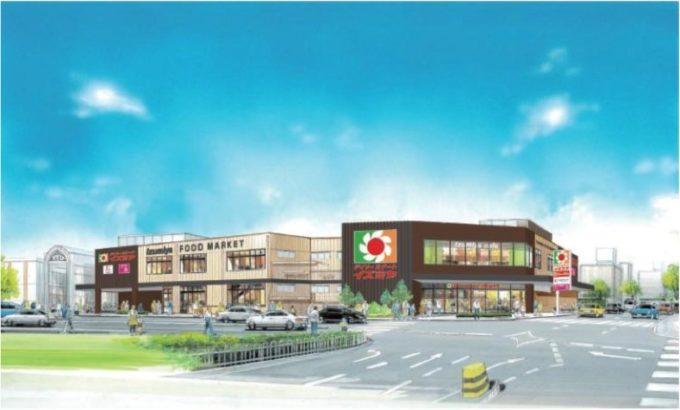「デイリーカナートイズミヤ花園店」開業、総合スーパーを建て替え