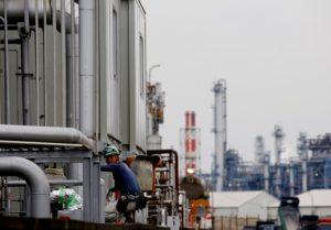 京浜工業地帯の様子