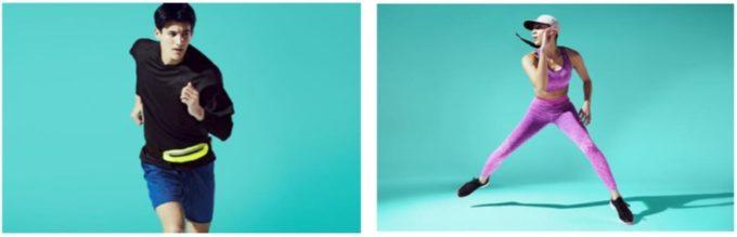 ジーユー、スポーツとファッションを組み合わせた「GU ACTIVE」発売