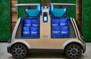 ウォルマート、自律走行車で宅配の実証実験、テキサス州ヒューストンで