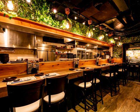 「とろさば料理専門店SABAR 東京恵比寿・代官山店」。国内22店、また海外のシンガポールでも店舗を展開する