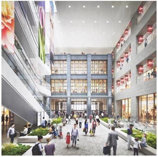 JR西日本、大阪駅西側に大型複合ビル、オフィスや商業施設など24年竣工
