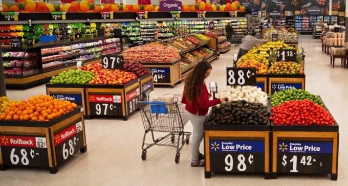ウォルマート、既存店の大半で青果部門を改装、20年夏までに