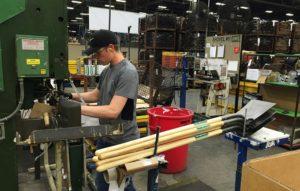 ペンシルベニア州の工場の様子