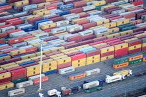 独ハンブルグの港