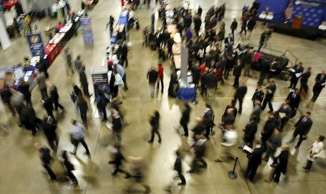 ワシントンで開催された就職フェア