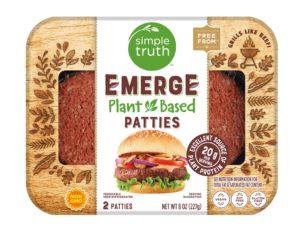 代替肉のハンバーガー用のひき肉