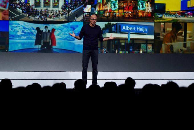 マイクロソフトのサティア・ナデラ CEO (写真提供:NRF)