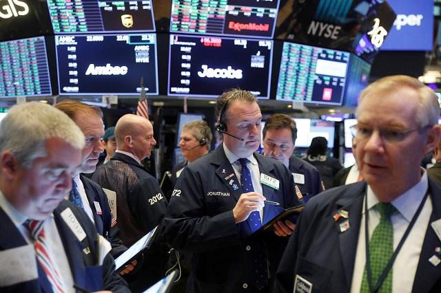 ニューヨーク証券取引所の様子