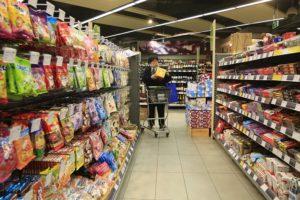 上海のスーパー