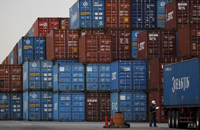 貿易収支のイメージ