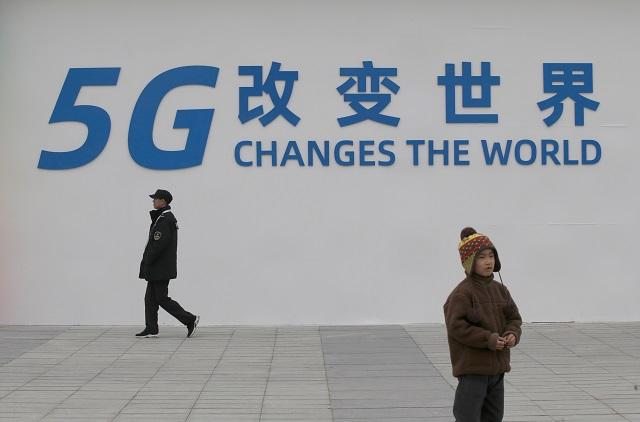 5Gの広告(中国)