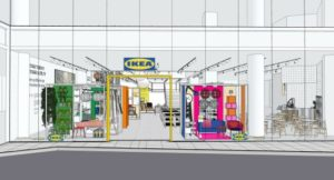 イケア、初の都心型店舗「IKEA原宿」を4月25日開業、駅前商業施設に出店