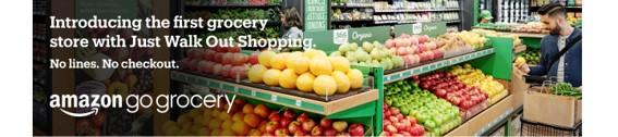 アマゾン、レジなし食品スーパー「アマゾン・ゴー・グロサリー」をシアトルに出店(サブ)
