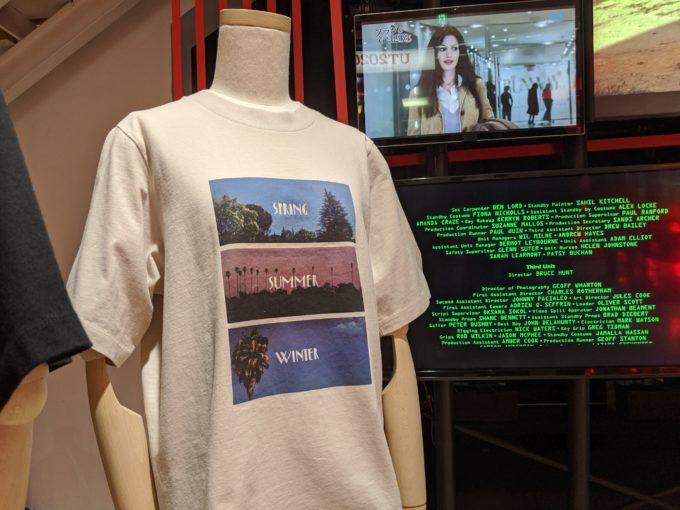 映画作品とのコラボ商品も。写真は「ラ・ラ・ランド」をモチーフにした女性向けのアイテム