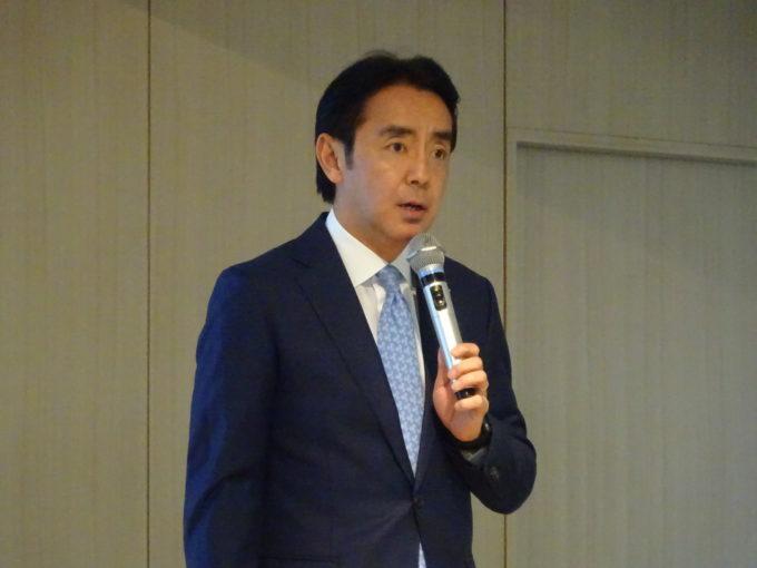 ローソンの竹増貞信社長