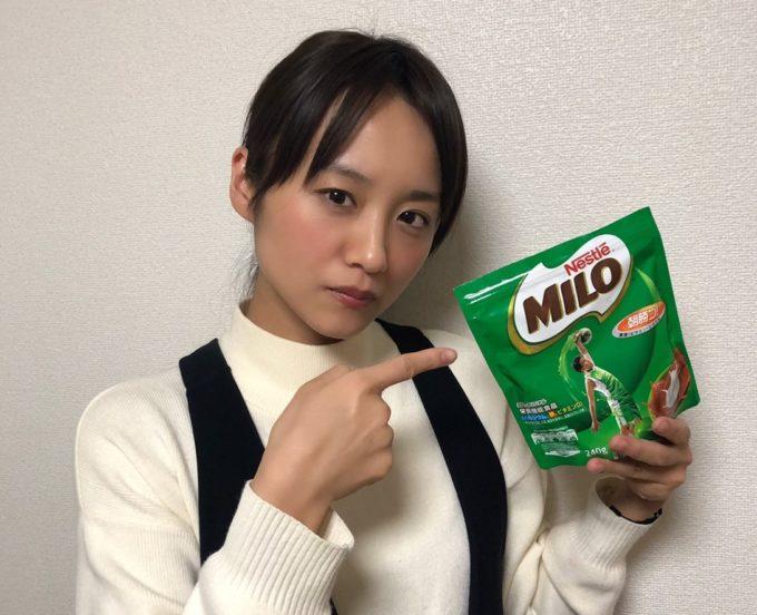 ミロへの異常な愛を隠さない女優・真下玲奈