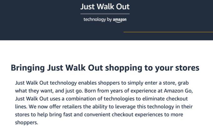 アマゾン、レジなし決済システムの外販を開始、クレジットカードで認証