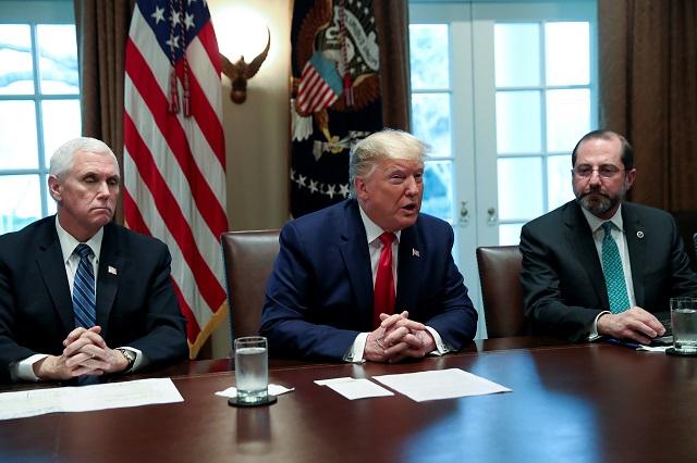 ホワイトハウスの様子