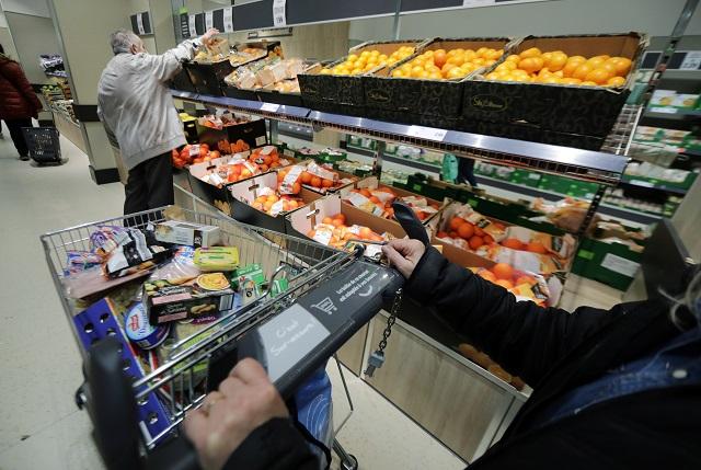 仏ニースのスーパー