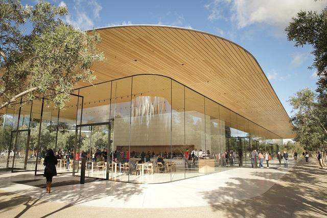 クパチーノにある新しいアップルビジターセンター