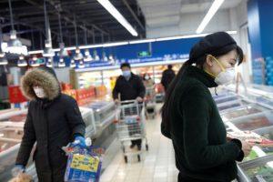 北京のスーパーの様子