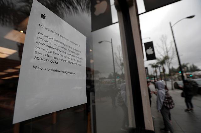 米アップル、中国圏を除く世界の直営店を2週間一時閉鎖すると発表