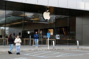 ニューヨークのアップル店舗