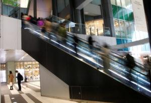 都内のショッピングセンター