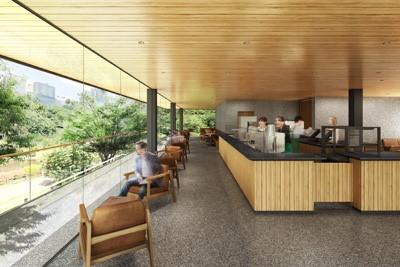 スタバ、東京の「新宿御苑」に民間企業として初出店、建材に国産木材を利用(サブ)
