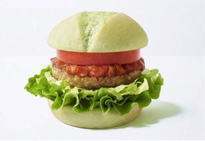 モスフード、動物性食材を使わない「グリーンバーガー」