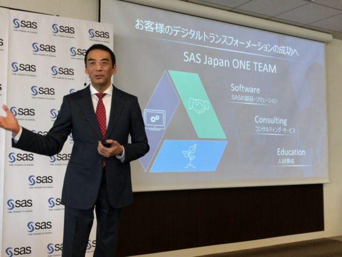 SAS Institute Japanの堀田徹哉社長