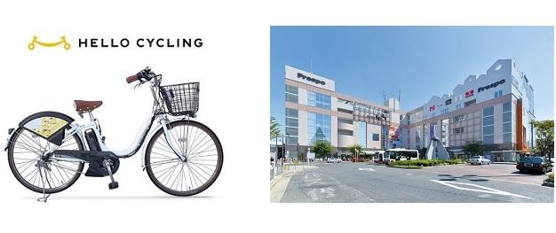フレスポしんかなとHELLO CYCLING