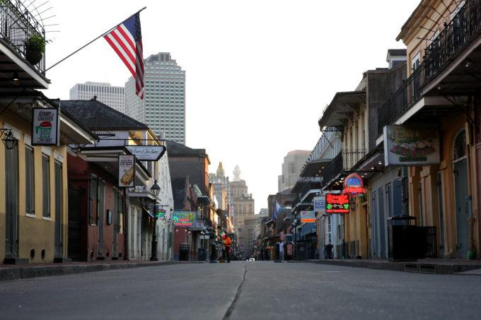 ルイジアナ州ニューオーリンズの街