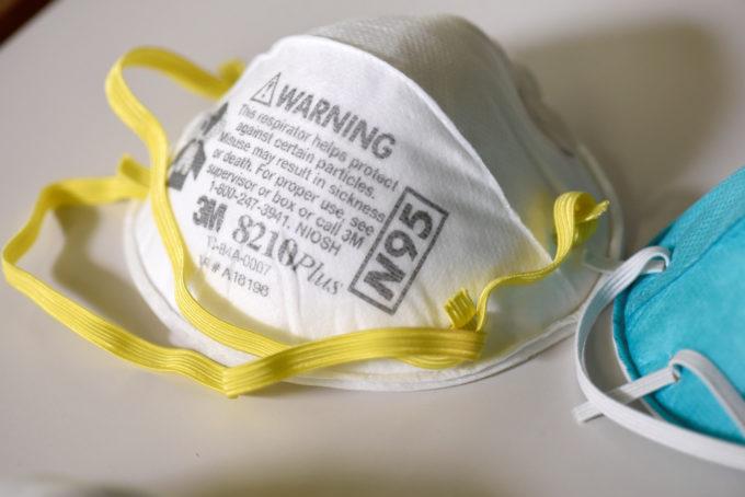 医療現場で使われる高性能の「N95」マスク