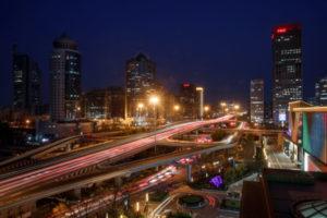 北京の夜景