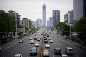 中国の街並み
