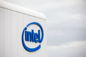 インテルのロゴ