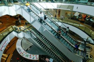 ケルンのショッピングセンター