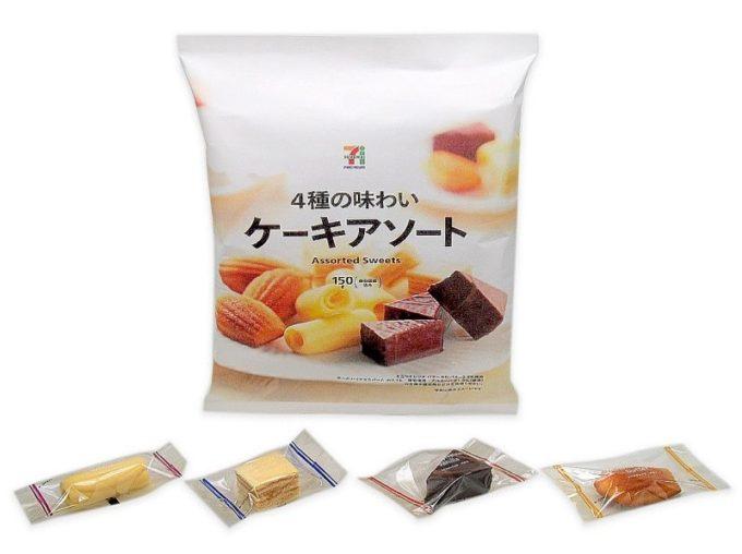 紙パッケージを使用したセブン&アイプライベートブランドのお菓子