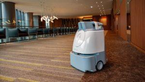 AIを搭載した自律走行可能な掃除ロボット「ウィズ」