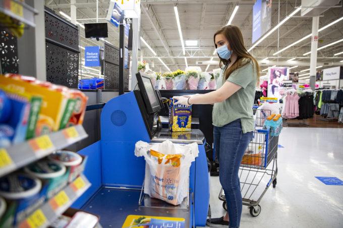 新型コロナウイルス の感染拡大は米国の小 売市場にも大きな影響 を及ぼしている
