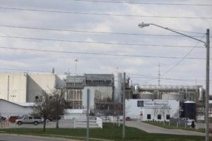米タイソン・フーズの工場