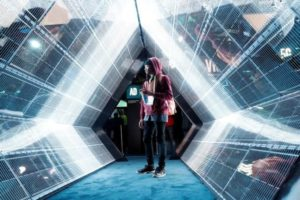 ラスベガスの家電見本市で展示された5G技術